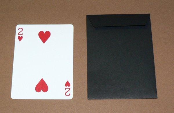 画像1: クレバー式封筒(黒色) (1)