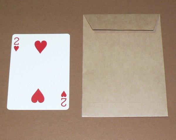 画像1: ノーマル封筒(茶色) (1)